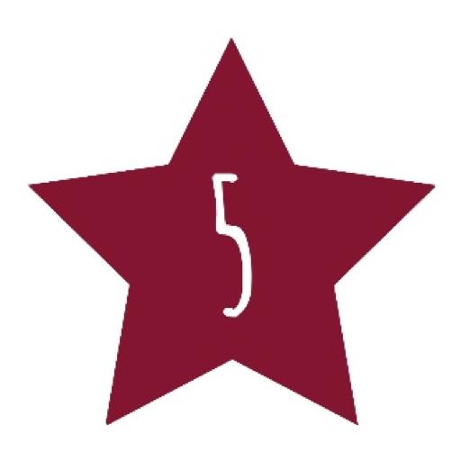 2015 – 5 sterren